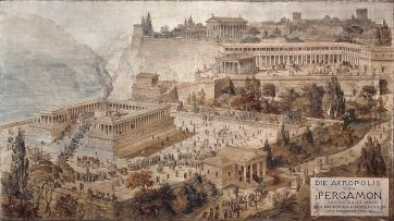 Acropolis_of_Pergamon_-_Friedrich_Thierch_-_1882