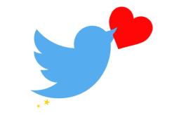 Twitterhartje