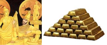 Koning-Midas-goud