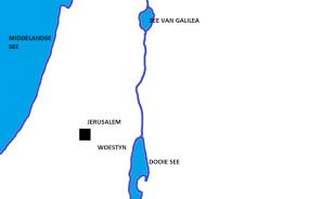 kaart Bybel